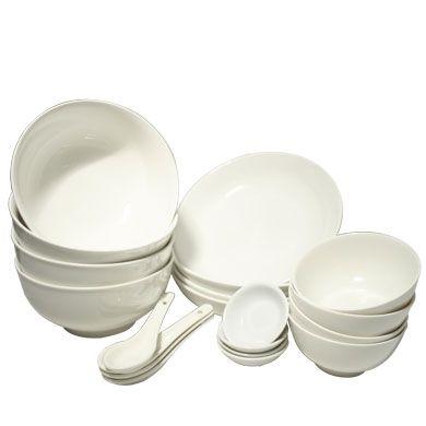 Japanese Dish Set   Pearl White