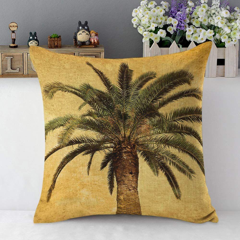 Throw Pillow Case   Throw pillows, Pillows, Palm tree throw pillows