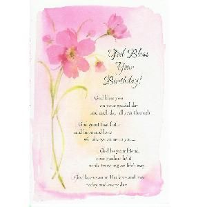 Religious Birthday Poems For Mom