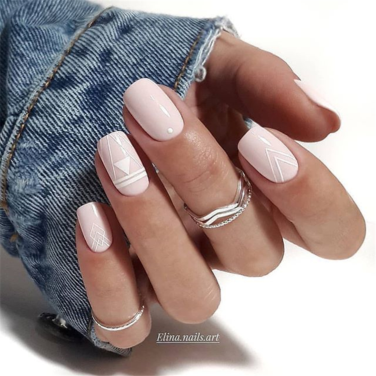 47 Fashionable Pink Nail Designs - Aray Blog For Chic Women