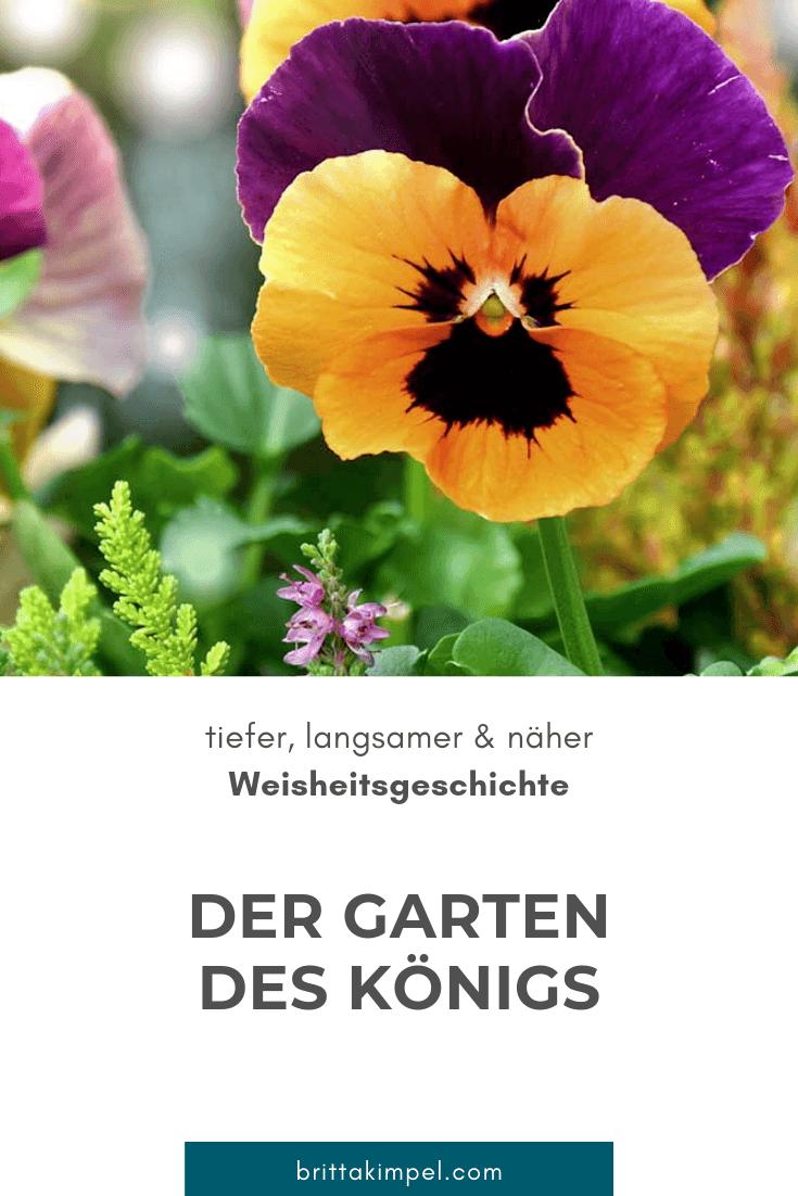 Der Garten Des Konigs Eine Weisheitsgeschichte Geschichte Weltgeschichte Garten