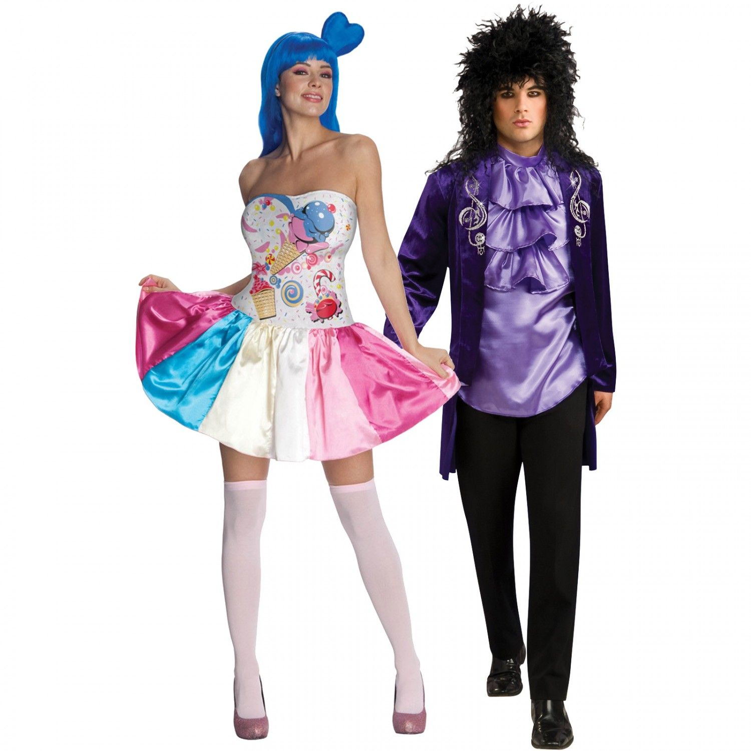 Katy Perry Candy Girl and Royal Rocker Couples Costume Image ...