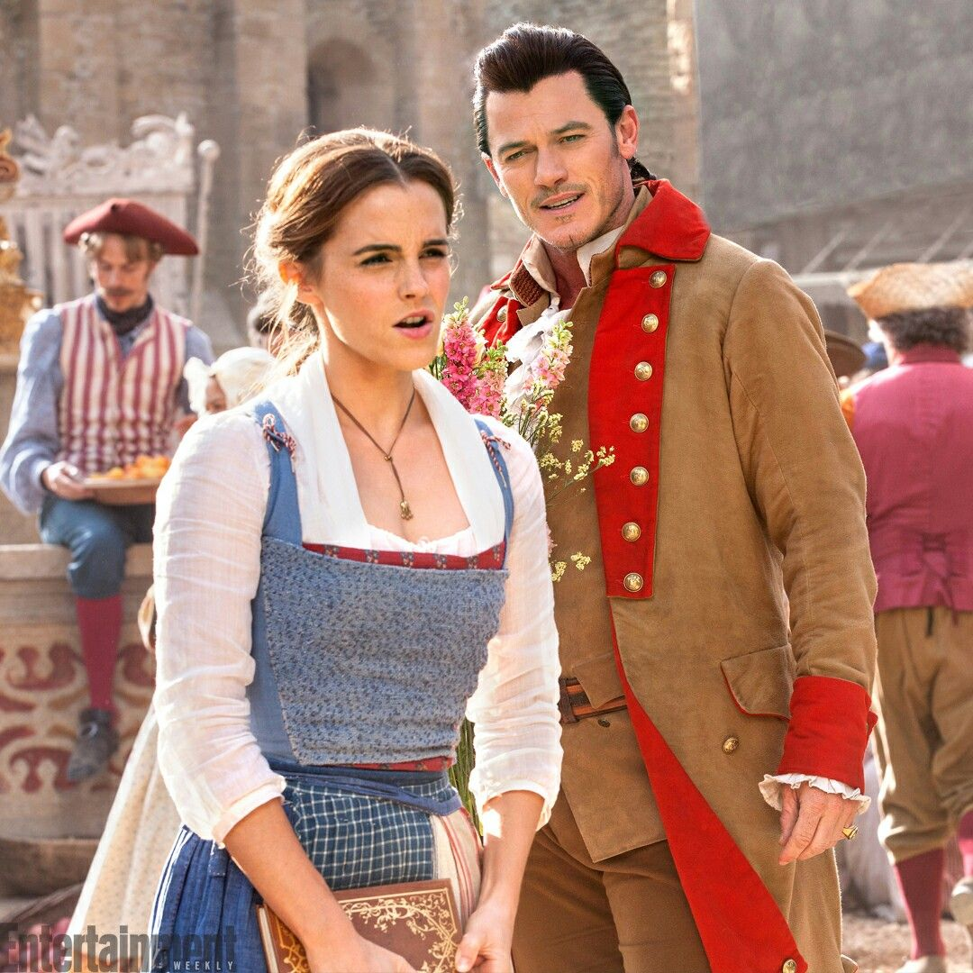 Belle and Gaston, from Disney's Beauty and the