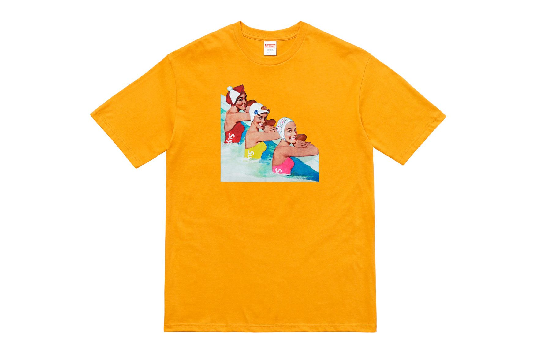 df4b990f Supreme Summer 2018 Tees: Gonz Logo, Mona Lisa and More | Tees ...