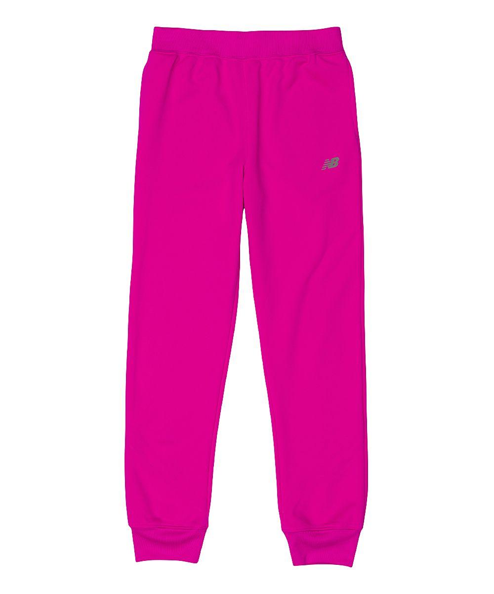 069b5ae419005 Poisonberry Micro Fleece Joggers - Girls New Balance Joggers, Girls Joggers,  Fleece Joggers,