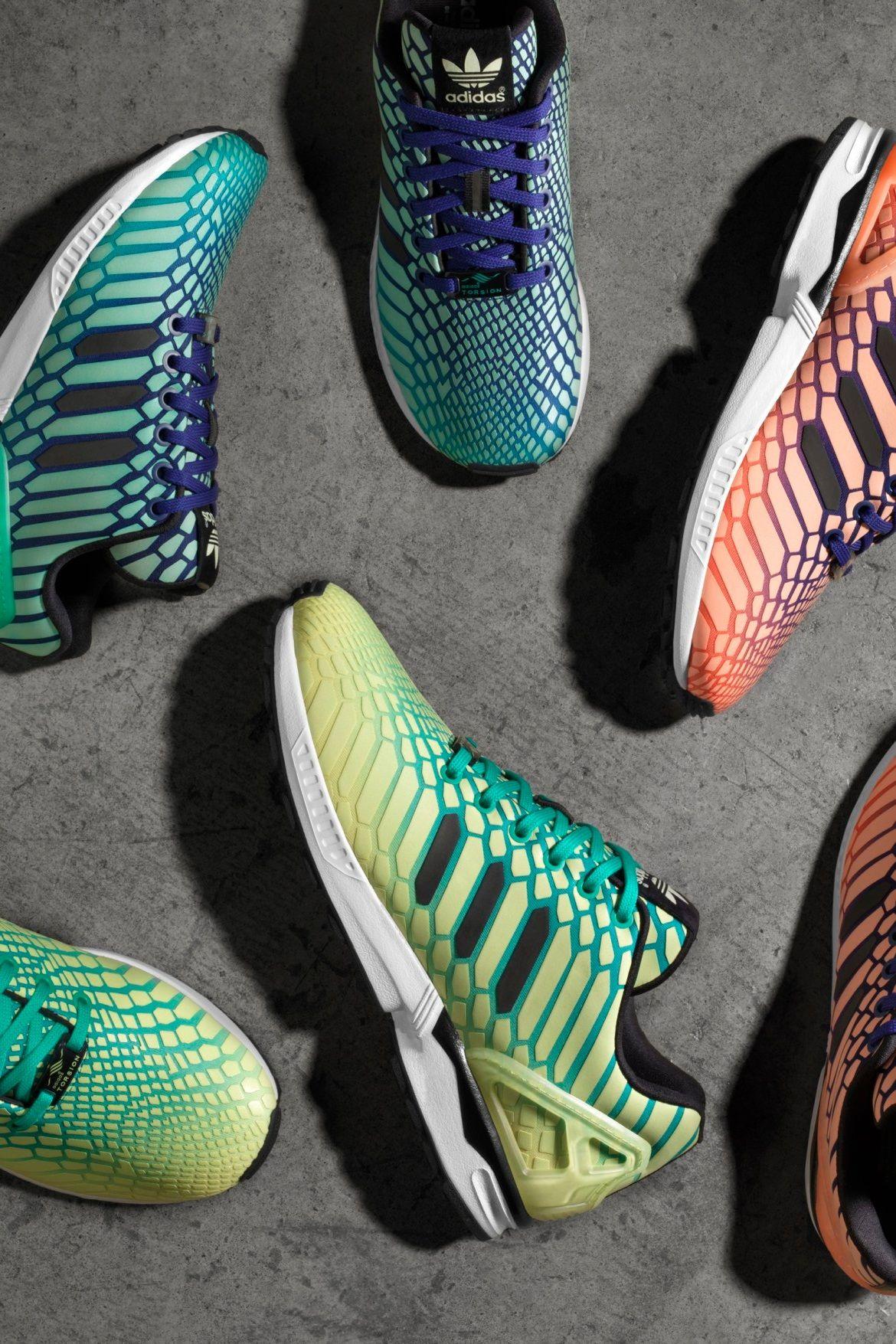 Adidas Originals ZX flujo Xero Sneakers: adidas zx flujo Pinterest