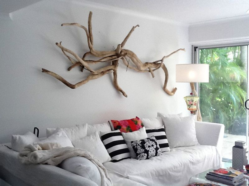 Unique Large Driftwood Wall Hanging Art Piece Ebay Driftwood