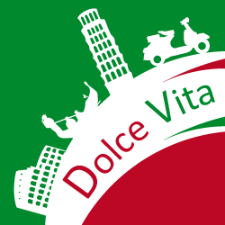 dolce vita – free template for powerpoint and impress | powerpoint, Modern powerpoint