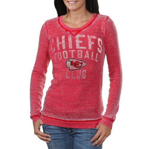 Kansas City Chiefs Women's Red Redzone Burnout « Clothing
