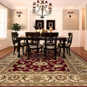 Orian Rugs Townbridge Claret Area Rug Living Room Ideas