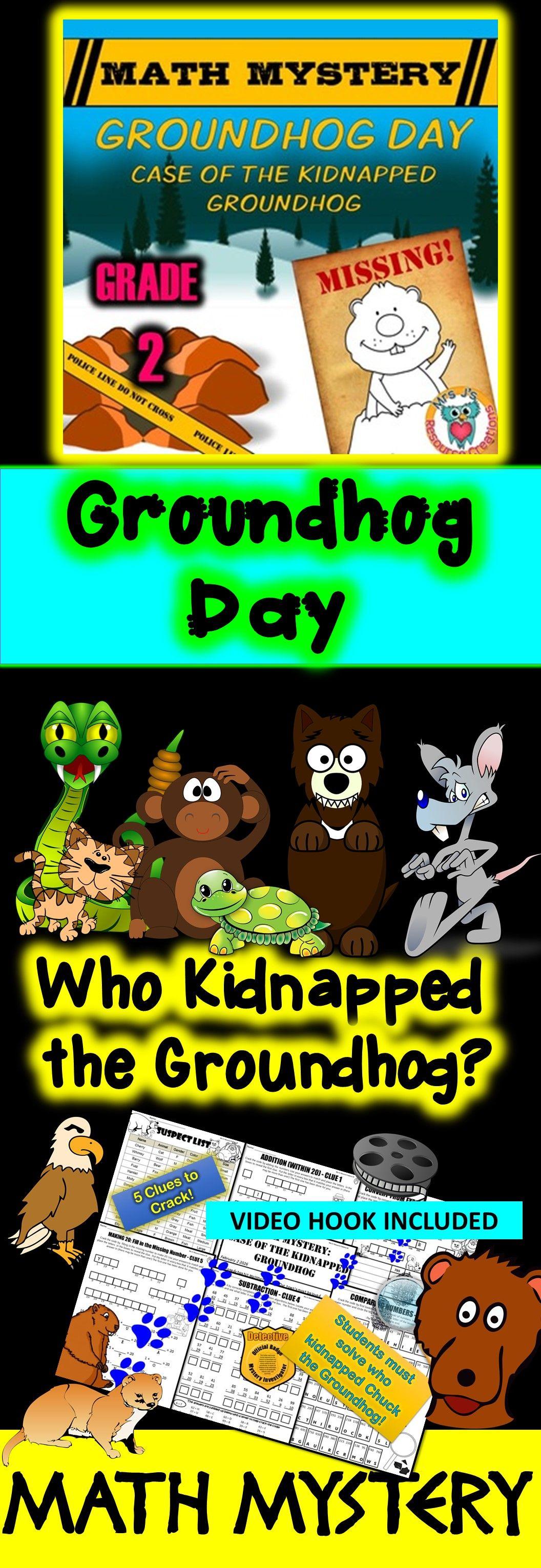 2nd Grade Groundhog Day Activity
