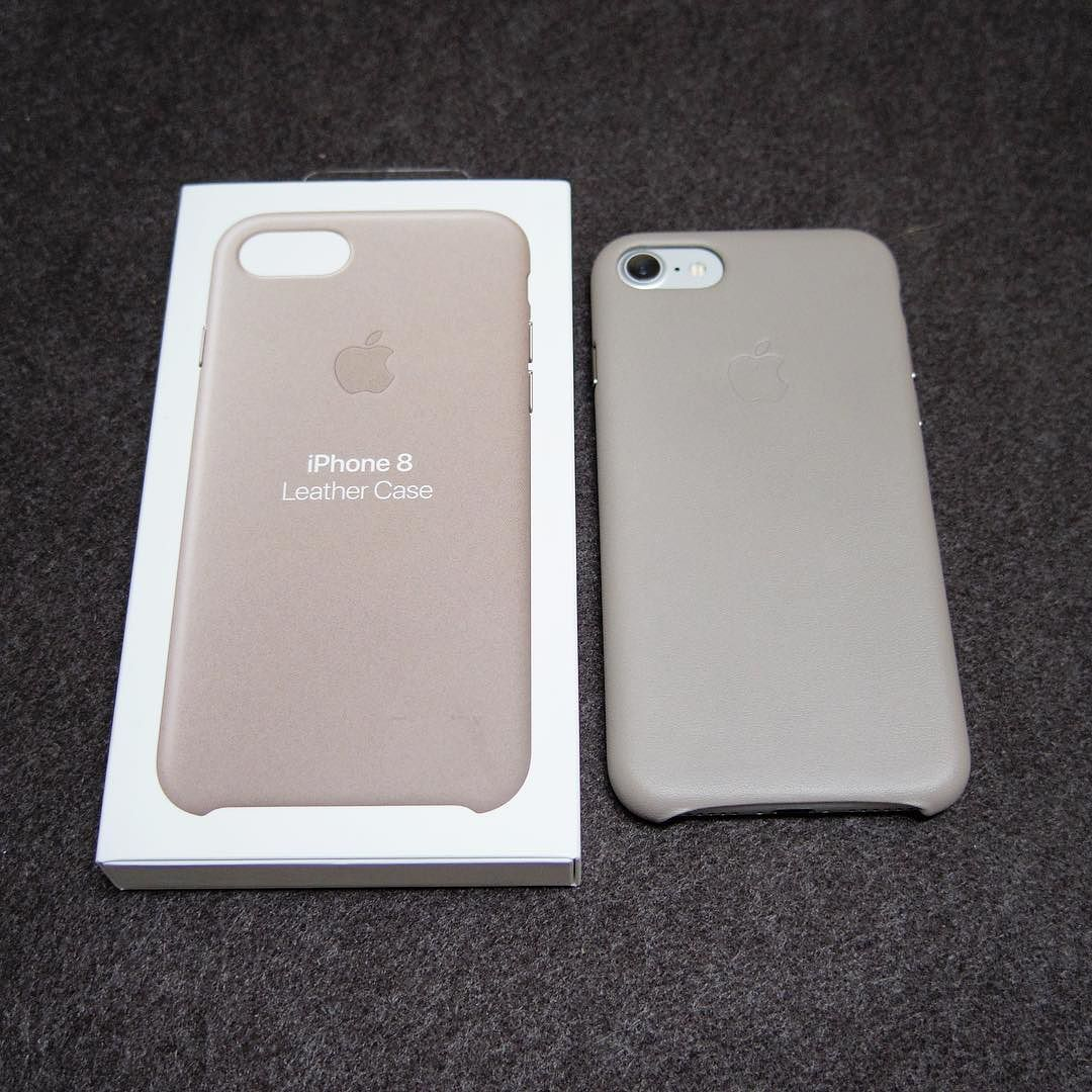 online store 333d0 fa444 iPhone 8/7 レザーケース トープ ケースはとりあえず純正色はトープに ...