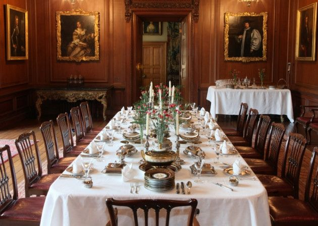 dining in downton abbey style at lyme hall | downton abbey, room