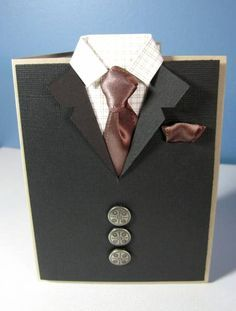 Formal Night Dinner Invites - Suit Card by Isaiah40:31 - Cards and Paper Crafts at Splitcoaststampers