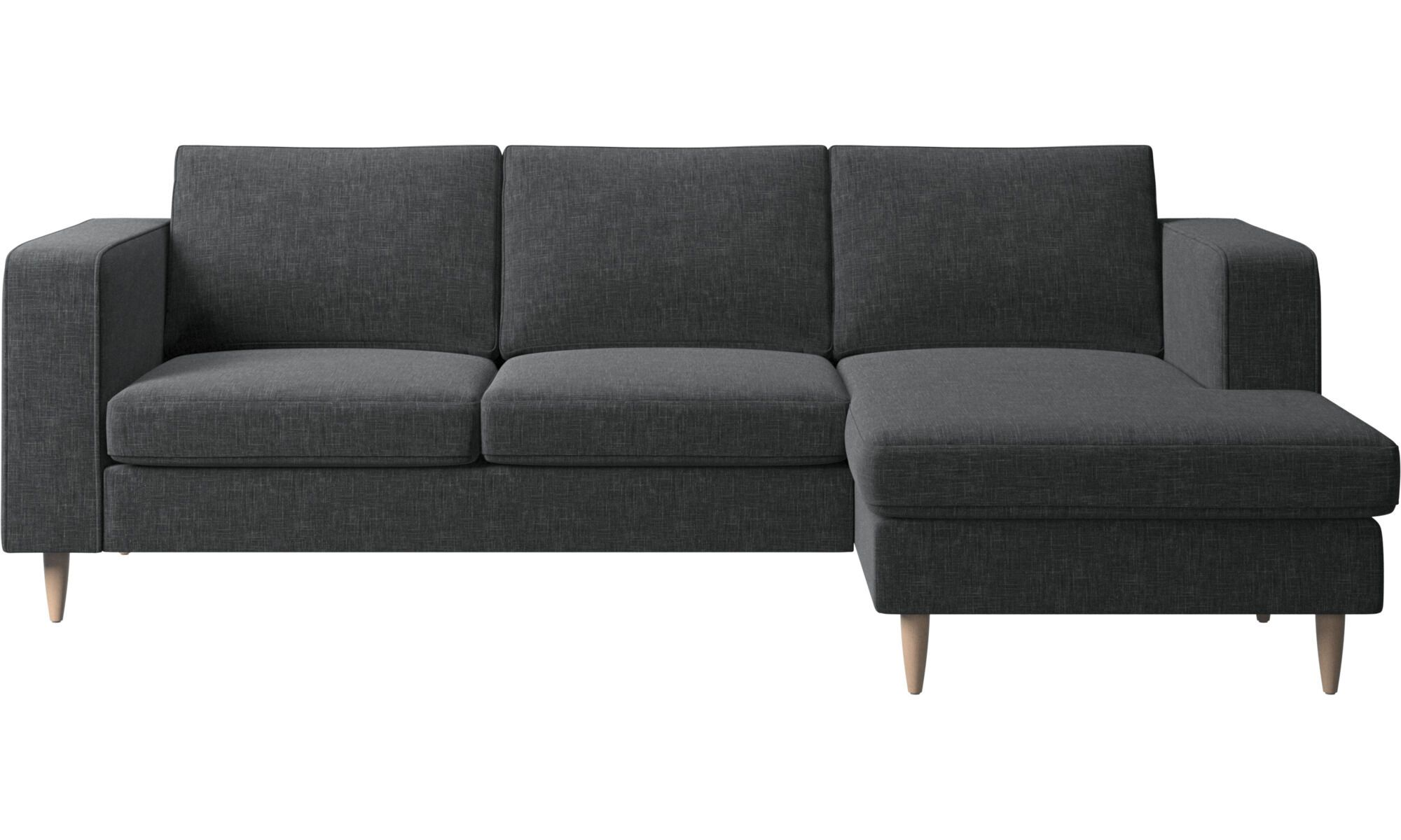 Indivi Sofa With Resting Unit Comfortable Chaise Chaise Longue Chaise