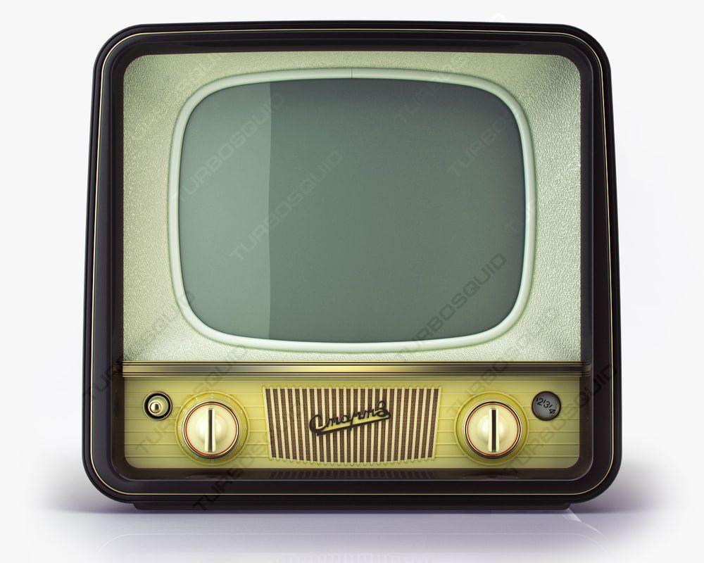 Vintage Tv Start D Model レトロ テレビ レトロ テレビ
