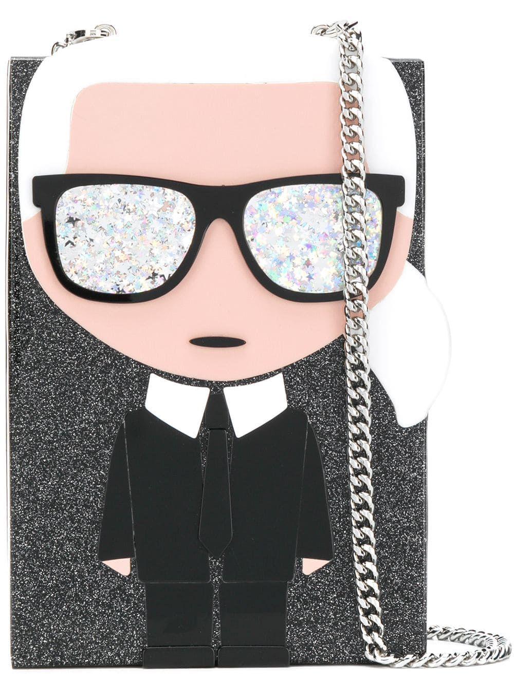 a mano Karl Lagerfeld Kikonik MinaudiereNon ordinario Borsa 0nPkOw