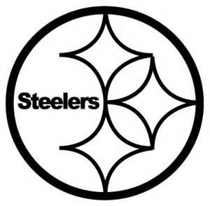 steelers logos coloring pages | Pittsburgh steelers -Logo coloring page | Pittsburgh ...