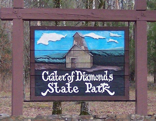 Crater of Diamonds State Park, ArkansasA vacation spent