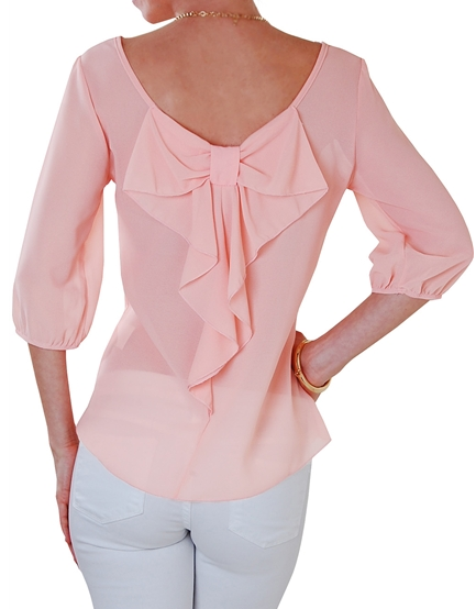 Darling bow back blouse http://rstyle.me/n/irejsnyg6