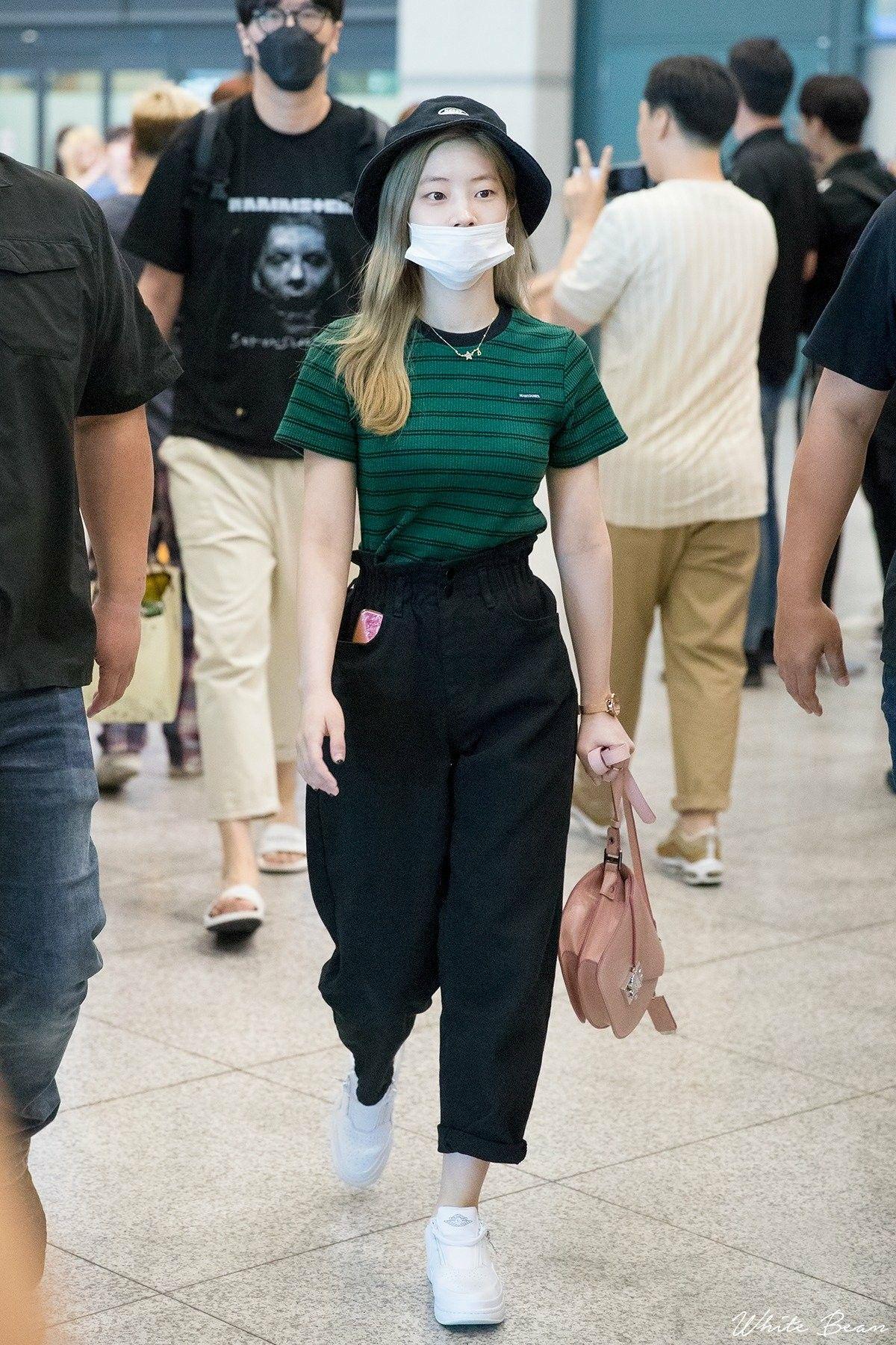 Dahyun Twice Korean Airport Fashion Kpop Fashion Outfits Airport Fashion Kpop