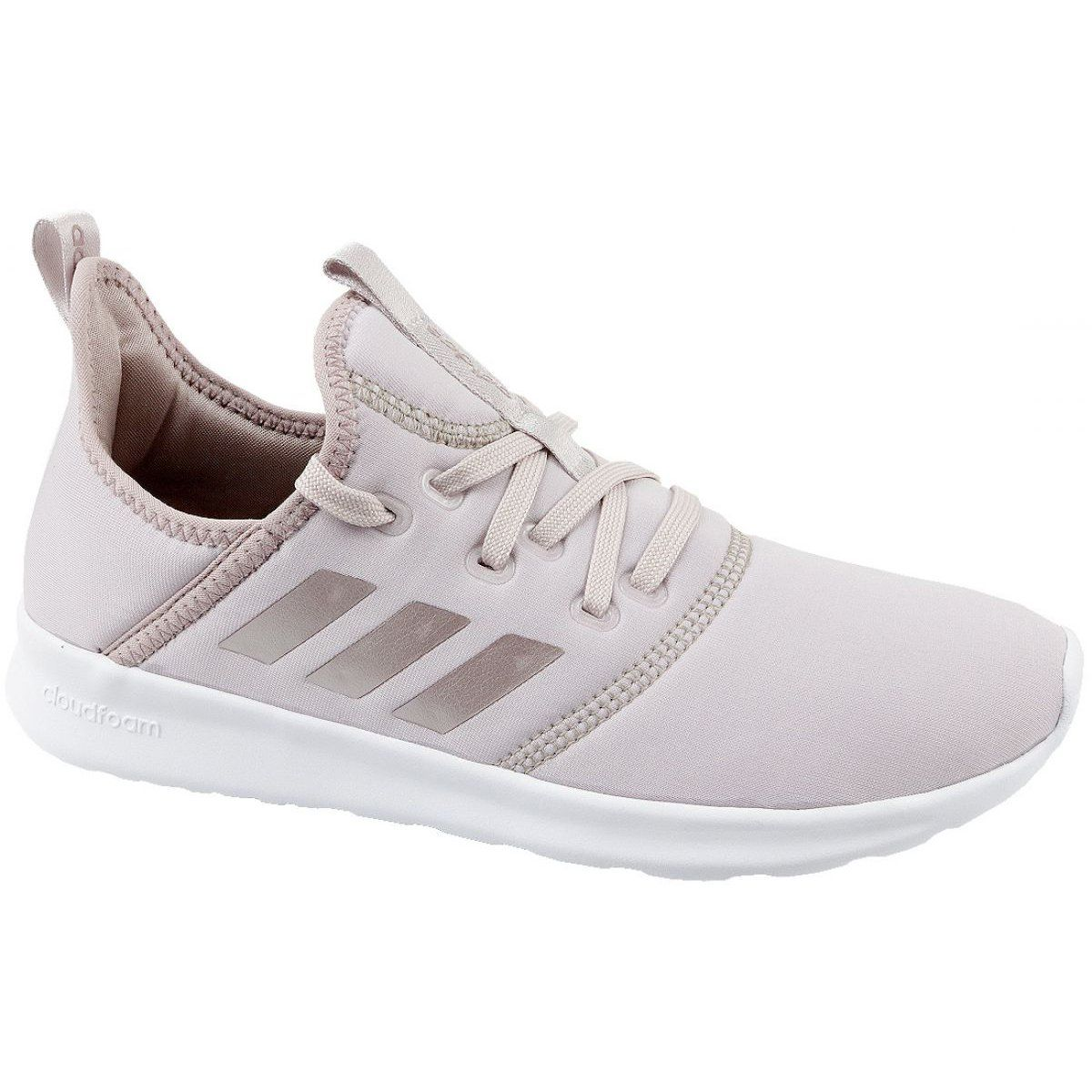 Adidas Cloudfoam Pure W DB1769 shoes pink | Womens pink sneakers ...