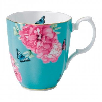 Friendship Turquoise Vintage Mug