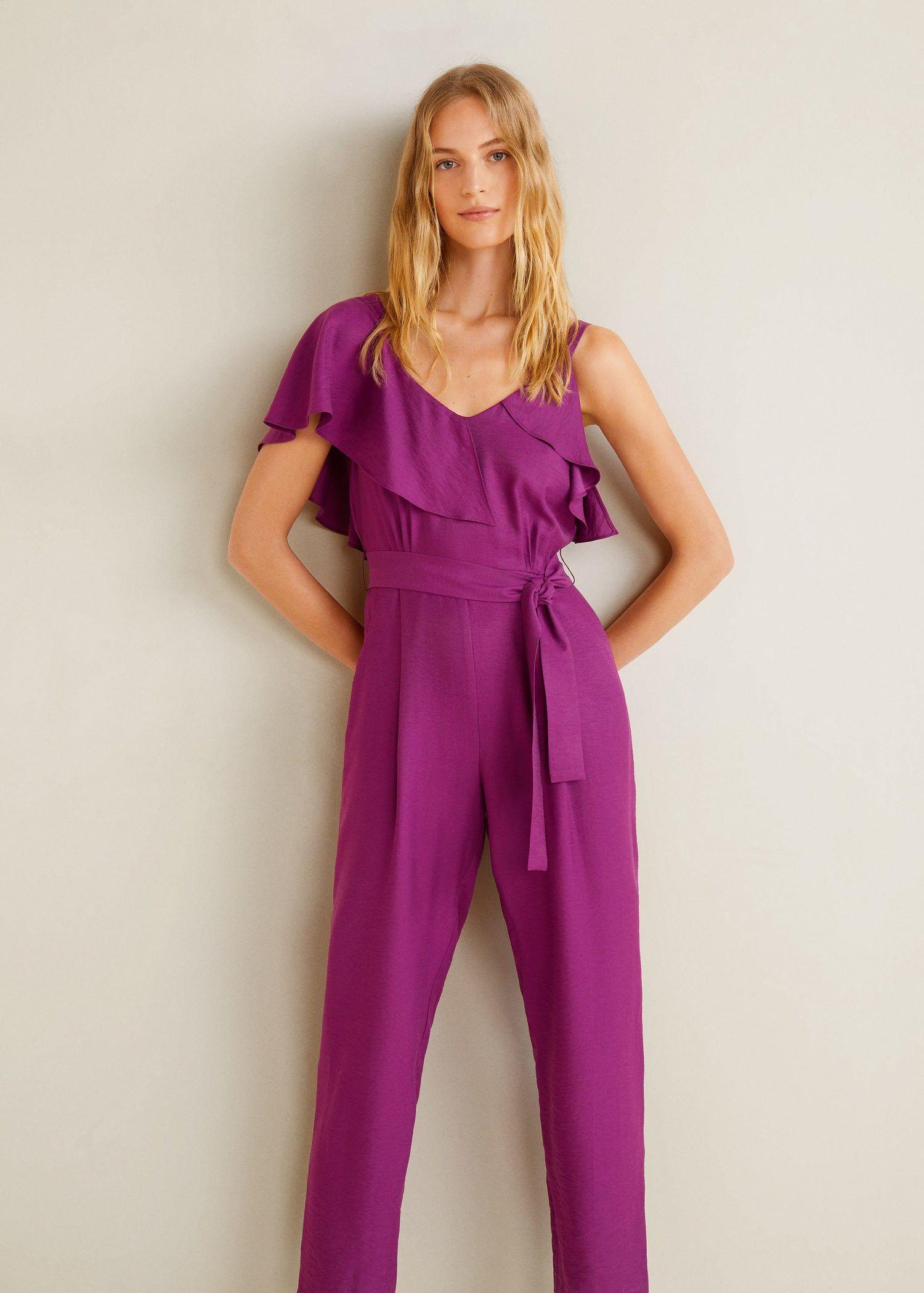 c12f25f71df Mono largo volante - Mujer en 2019   Good ideas to wear   Monos ...