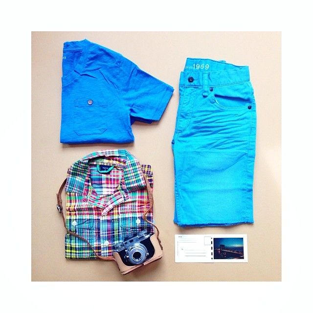 【Kids Boy】 チェックシャツ (Color:YELLOW PLAID/¥3,600/ID:956973) ポケットTシャツ (Color:for reference/¥1,900/ID:931191)  デニムショーツ (Color:FOLDER BLUE/¥3,900/ID:956950) ※全て2014/4/9以降販売予定  ■オンラインストアはこちら http://www.gap.co.jp/browse/subDivision.do?cid=6170