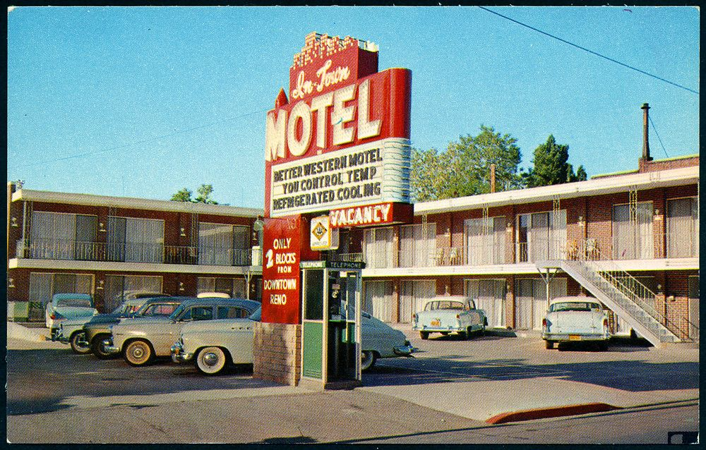 InTown Motel, 1956