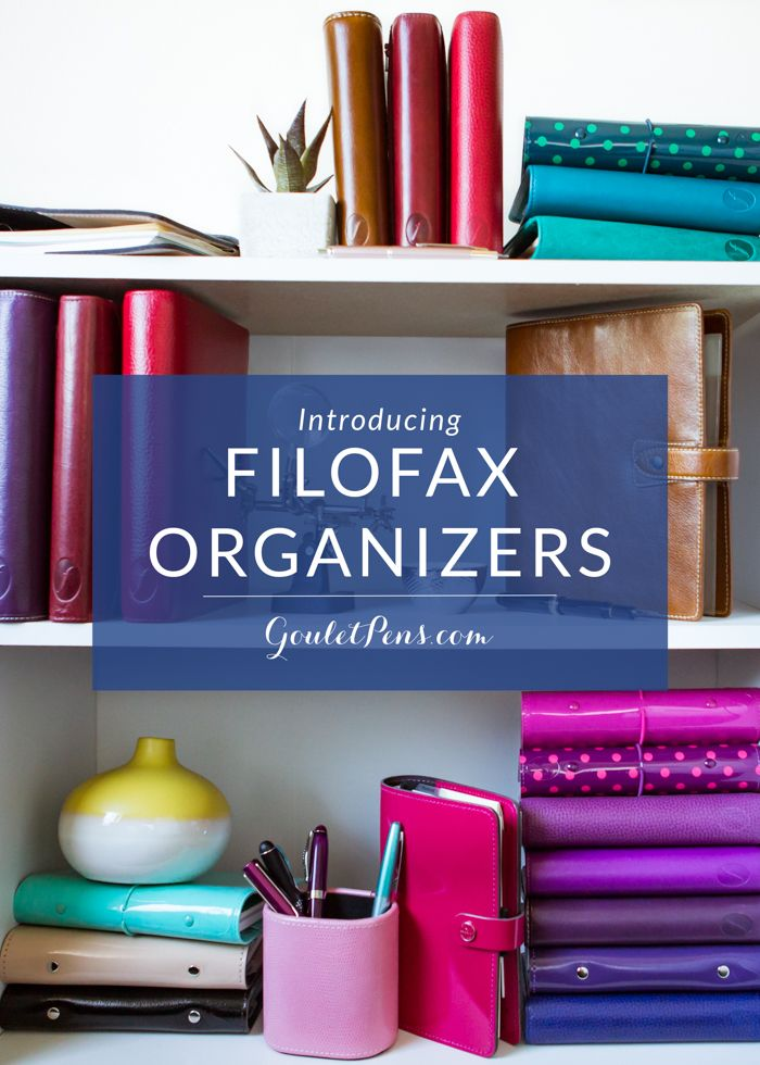 Filofax is a system of organization that is tried and true- it's been helping people get organized since 1920. The benefits of the system are twofold: You can be as structured as you want with helpful inserts available from Filofax itself or countless others available on Etsy, or you can be as creative as you want, crafting your own assortment of self-made organizational tools. The ability to easily add, remove, and rearrange pages is what sets Filofax apart.