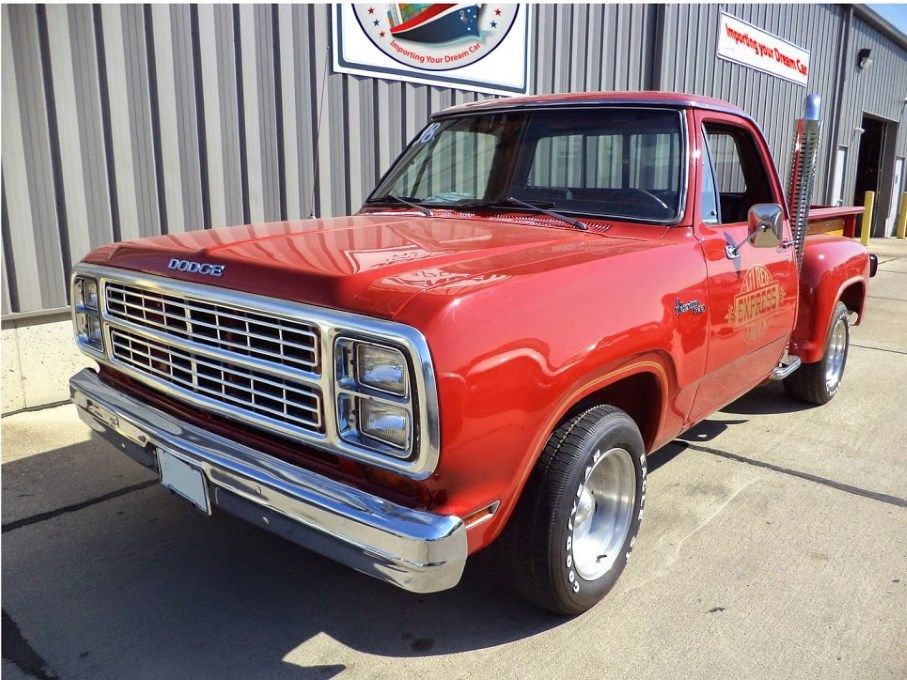 """1978 Dodge """"LIL\' RED EXPRESS"""" Truck - True West Imports   DOCS OLD ..."""