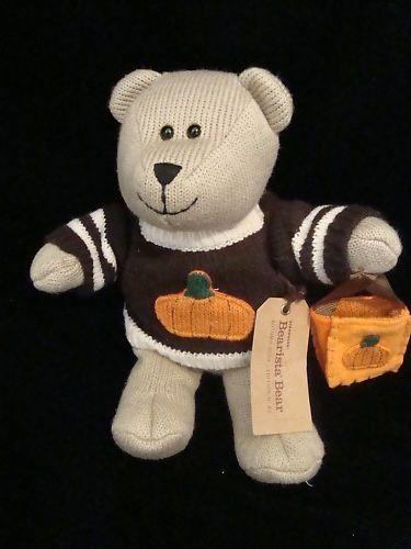 Starbucks Coffee Company Halloween 2009 Bearista Bear 85th ed Pumpkin Sweater #BearistaBear #Halloween
