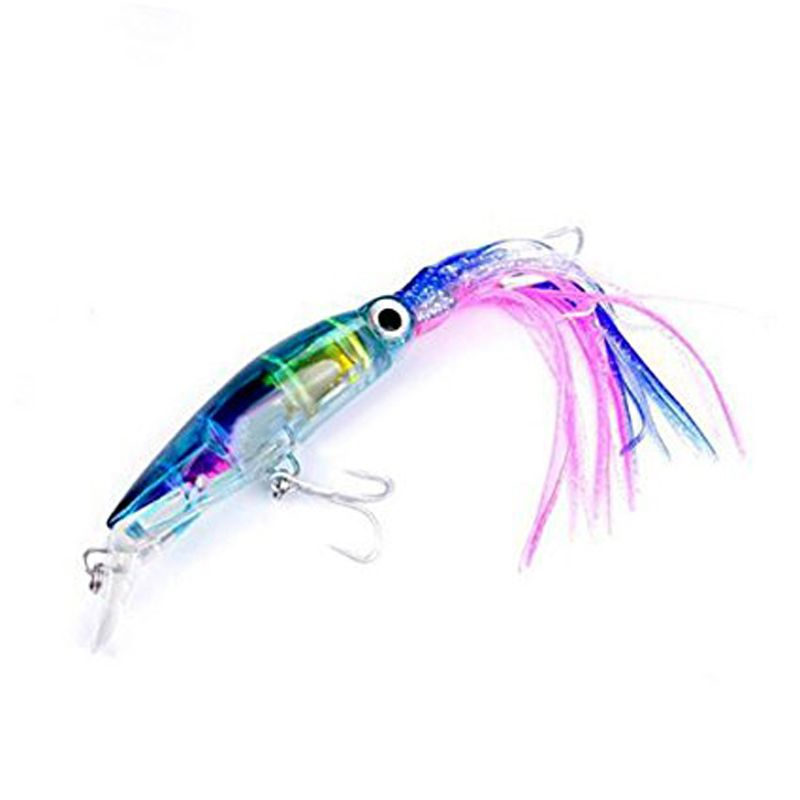 """5 NEW Soft Trolling Big Game Fishing Skirt Lure Lures Bait 4/"""""""