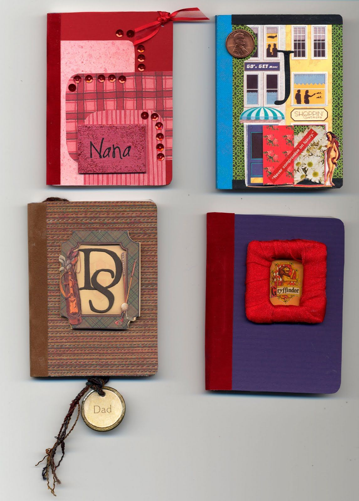 Scrapbook notebook ideas - Scrapbook Paper Covers For Composition Notebooks