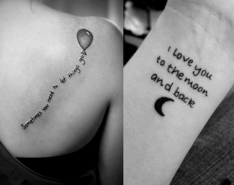 Cute Quotes For Tattoos Girly: Small Tattoo Sayings For Girls