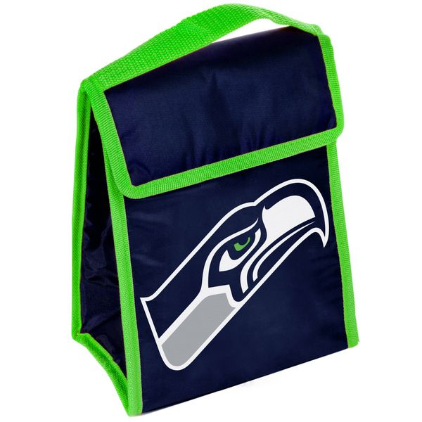 new product 1f02c 0eb01 Seattle Seahawks Big Logo Velcro Lunch Bag | Overstock.com ...
