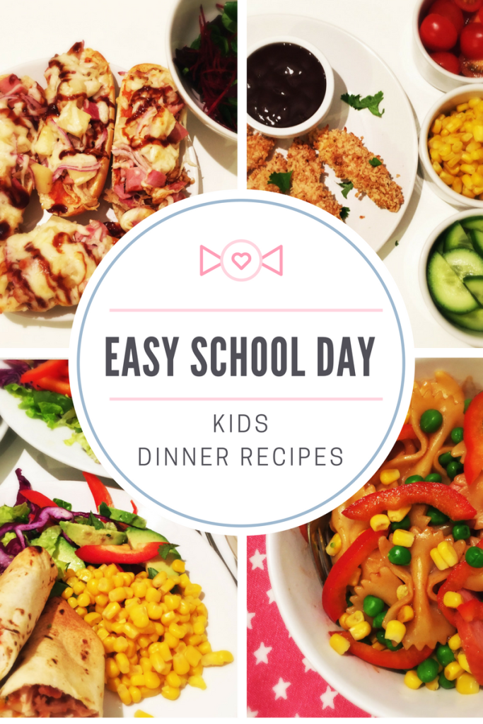 Easy school day dinner ideas back to school pinterest kids a week of easy school day kids dinner recipes all yum all kid approved and all super easy to make perfect for busy families forumfinder Image collections