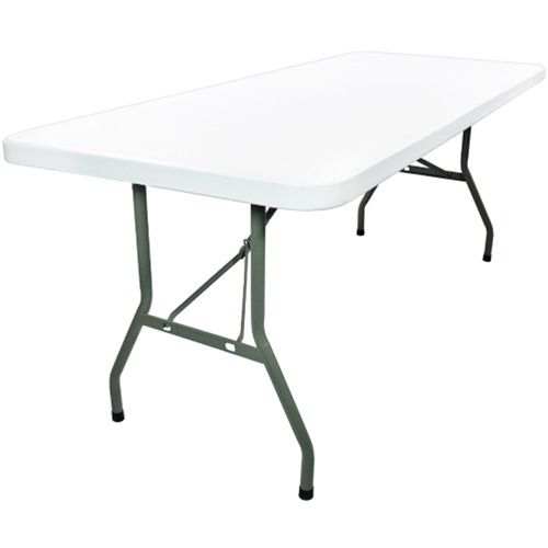 8 Ft Rectangular Plastic Folding Banquet Tables Rb 3096 Gg Folding Table Table Dining Table Chairs