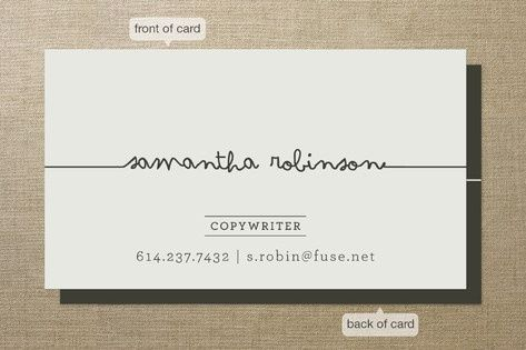 Simple business card idea business cards pinterest card ideas simple business card idea colourmoves Choice Image