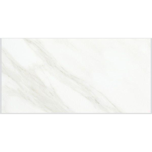 American Olean Mirasol 8 Pack Carrara Porcelain Floor And Wall Tile
