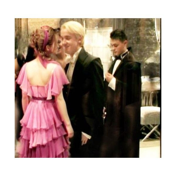 dramione ; draco and hermione yule ball (: liked on ...