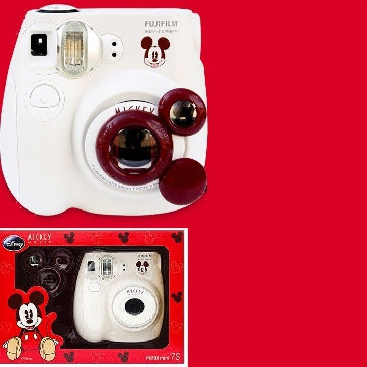 Fujifilm Instax Disney Mickey Mouse Mini 7s Camera For