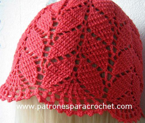 7 Patrones de Sombreros muy femeninos para tejer al Crochet ...