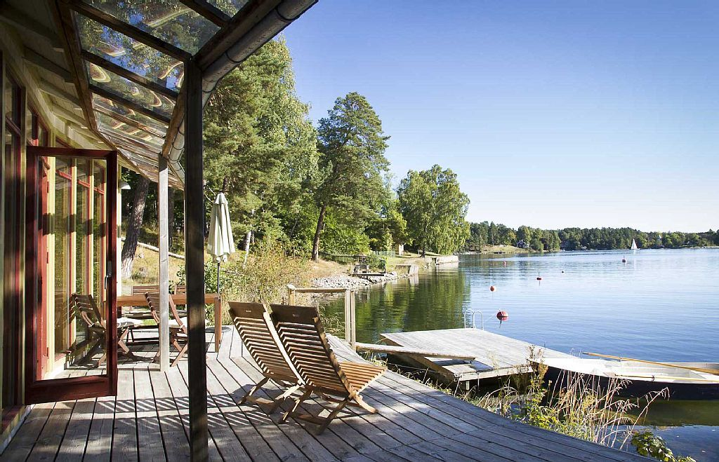 Ferienhaus am Strand, in Stockholm Archipel mieten