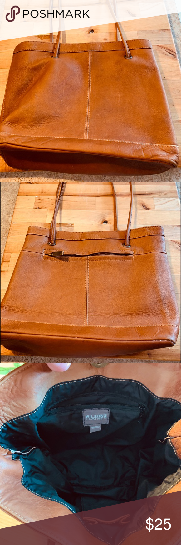 Wilson leather shoulder bag in 2020 Wilsons leather