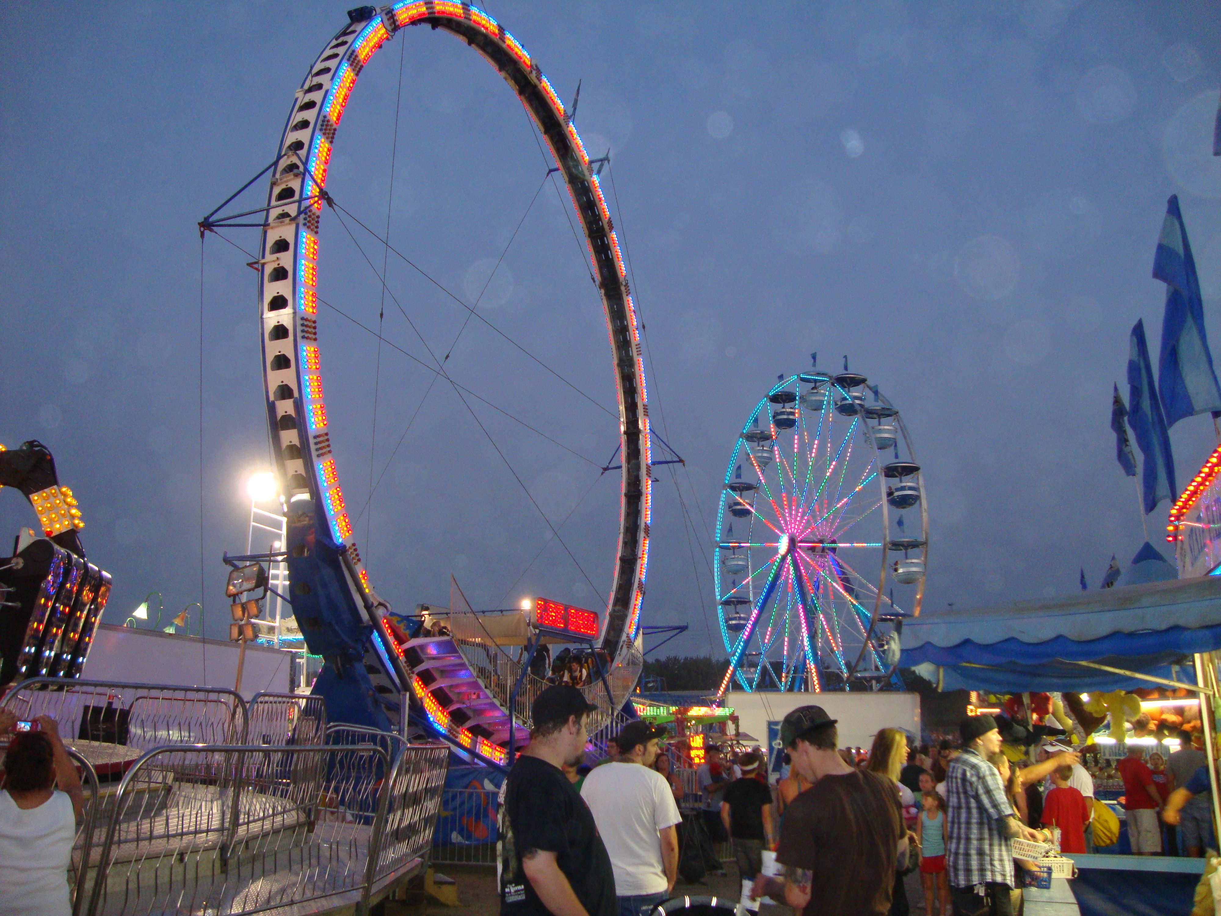 Butler County Fair, Butler PA Another town pipelining has us in ...