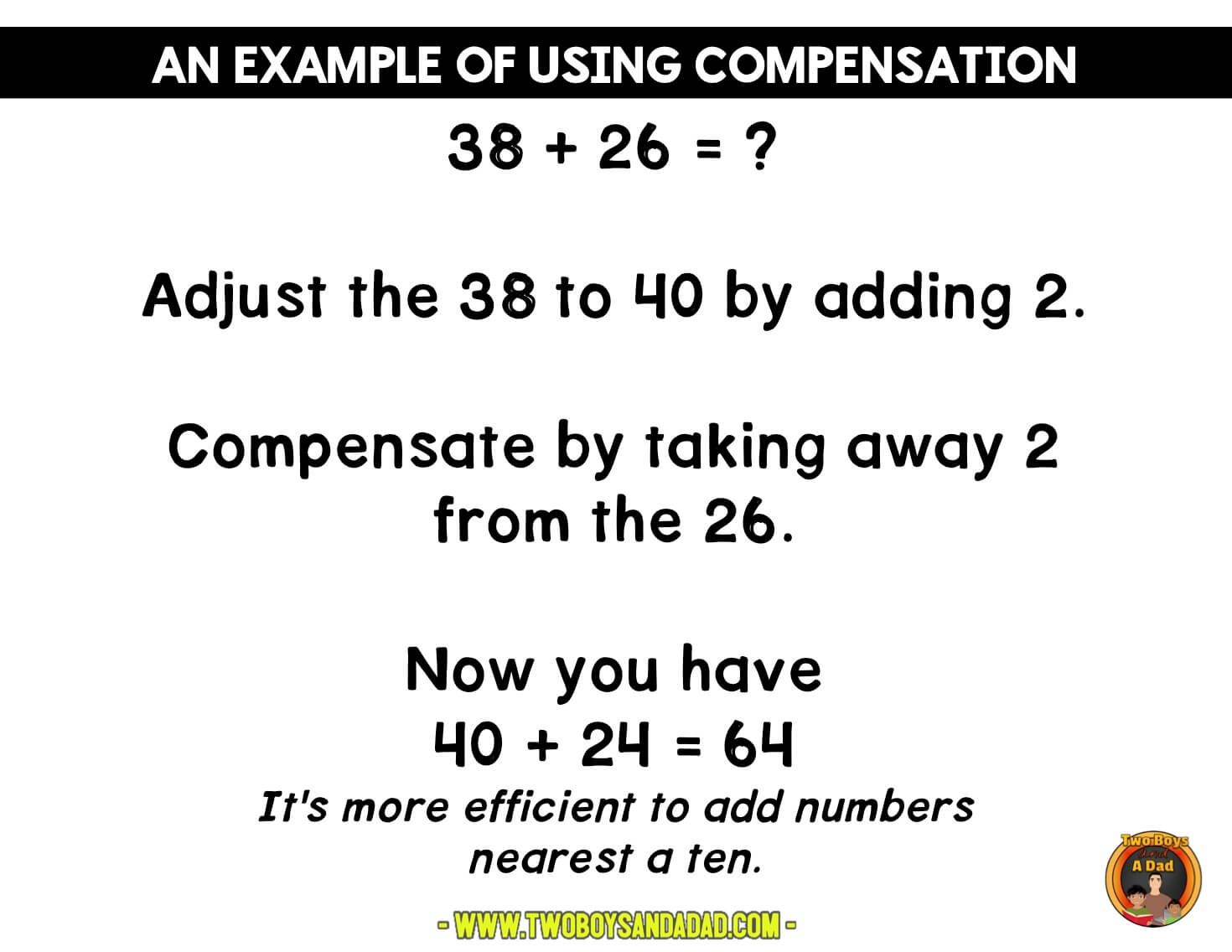 How To Use The Compensation Strategy For Addition Mental Math Strategies Math Strategies Google Classroom Math How do you do mental math addition