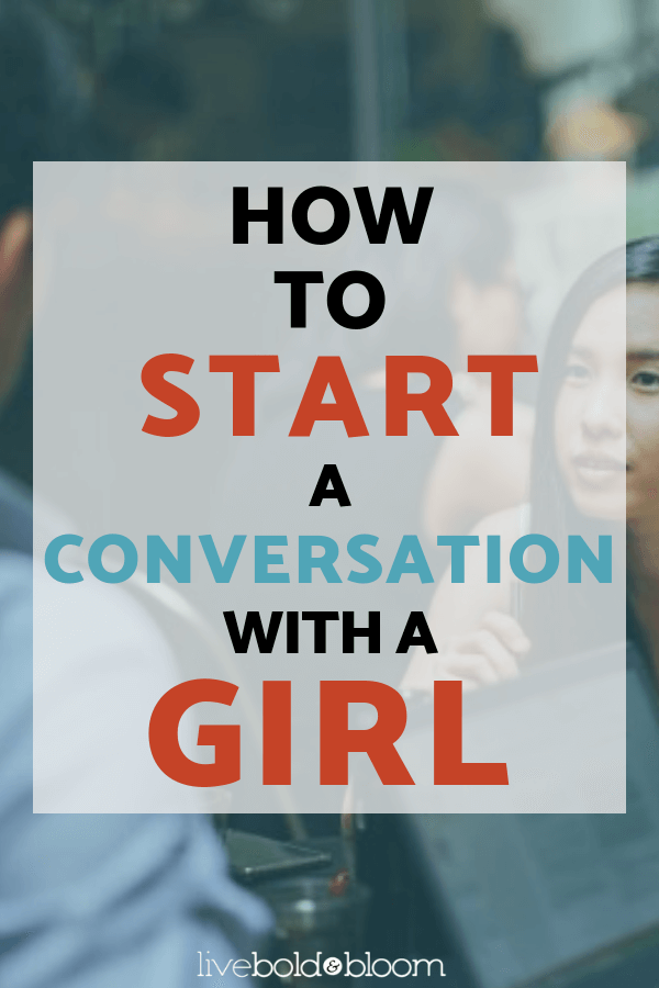 How to start a conversation about relationships