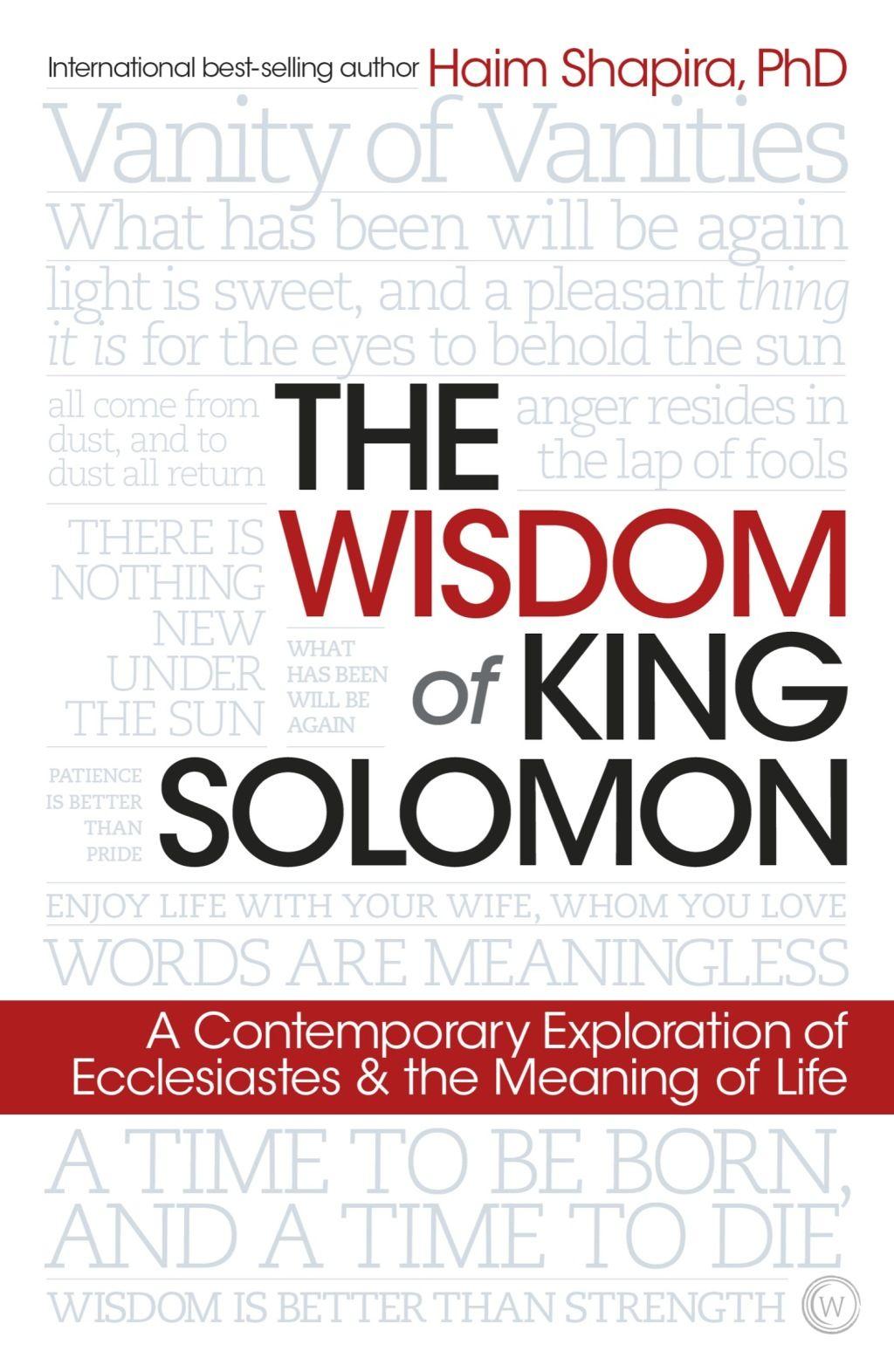 The Wisdom Of King Solomon Ebook